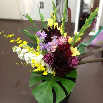 お祝い花束 ダリア(季節花)