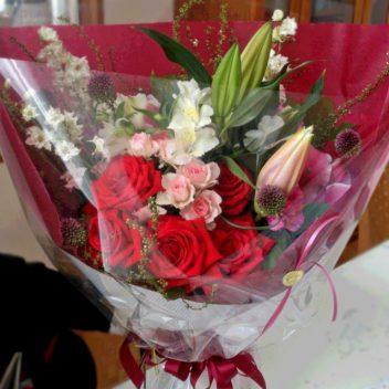 お祝い花束 バラ
